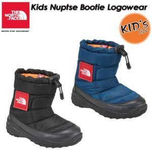 THE NORTH FACE ノースフェイス  Kids Nuptse Bootie Logowear ヌプシブーティーロゴウェア NFJ51782|spray