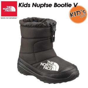 ノースフェイス ブーツ キッズ THE NORTH FACE NFJ51881 ヌプシブーティー 5 Kids Nuptse Bootie 5|spray
