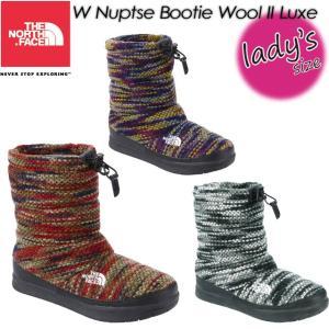 THE NORTH FACE ノースフェイス W Nuptse Bootie Wool II Luxe W ヌプシ ブーティー ウール II ラックス 女性用 レディース ブーツ 長靴 NFW51684|spray