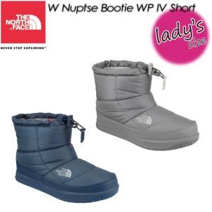ノースフェイス THE NORTH FACE NFW51686 W Nuptse Bootie WP 4 Short W ヌプシ ブーティー ウォータープルーフ 4 ショート|spray