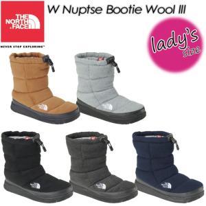 THE NORTH FACE ノースフェイス W Nuptse Bootie Wool 3 W ヌプシ ブーティー ウール 3 NFW51786|spray
