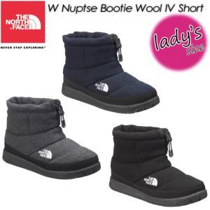 ノースフェイス THE NORTH FACE NFW51879  W ヌプシ ブーティー ウール 4 ショート W Nuptse Bootie Wool 4 Short 女性用 レディース ブーツ 長靴|spray
