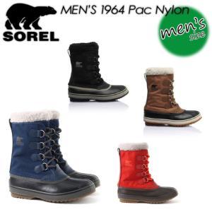 SOREL ソレル 1964 Pac Nylon 1964 パックナイロン NM1440 ブーツ メンズ 男性用|spray