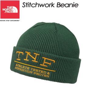 ノースフェイス THE NORTH FACE NN41513 Stitchwork Beanie ステッチワークビーニー|spray