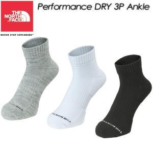 THE NORTH FACE ノースフェイス Performance DRY 3P Ankle パフォーマンス ドライ 3P アンクル ユニセックス NN81708|spray