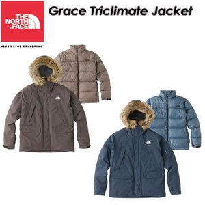 THE NORTH FACE ノースフェイス Grace Triclimate Jacket グレーストリクライメートジャケット NP61738|spray