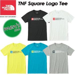 THE NORTH FACE ノースフェイス TNF Square Logo Tee TNFスクエアロゴティー NT31791|spray