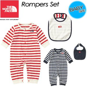 THE NORTH FACE ノースフェイス  Rompers Set ロンパースセット NTB61709|spray
