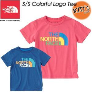 THE NORTH FACE ノースフェイス  S/S Colorful Logo Tee ショートスリーブカラフルロゴティー NTJ31730|spray