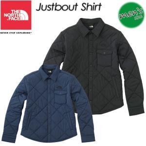 ノースフェイス THE NORTH FACE NY81735 Justbout Shirt ジャストバウトシャツ|spray