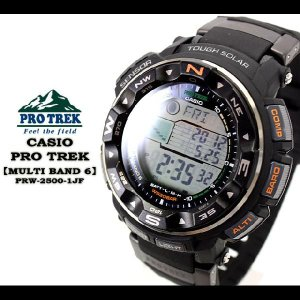 PRO TREK MULTIBAND 6 クロスバンドモデル PRW-2500-1JF|spray