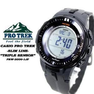 プロトレック PRO TREK  電波 ソーラー PRW-3000-1JF  MULTIBAND 6 腕時計|spray