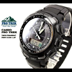 PRO TREK MULTIBAND 6 クロスバンドモデル PRW-5100-1JF|spray