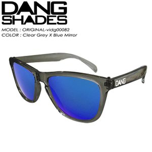 DANG SHADES ダン シェイディーズ ORIGINAL オリジナル Clear Grey X Blue Mirror vidg00082|spray