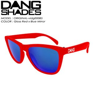 DANG SHADES ダン シェイディーズ ORIGINAL オリジナル Gloss Red x Blue Mirror vidg00085|spray
