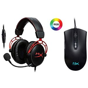 HyperX Cloud Alpha ゲーミングヘッドセット  HX-HSCA-RD/AS + Pu...