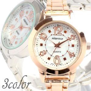 日常生活防水 可愛いシェル文字盤にピンクゴールドボディ 日本製ムーブメントのメタルベルト腕時計 3気圧防水 ホワイト AV017 レディース腕時計 送料無料|springstate
