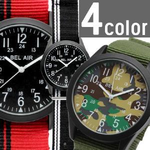 腕時計 メンズ腕時計 ミリタリーデザイン キャンバスベルト かんたん着脱ベルト クォーツ 男性用 JH32|springstate