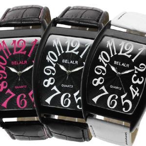腕時計 メンズ腕時計 トノー型ケース スパイラルナンバー PUレザーベルト クォーツ 男性用 JH34|springstate
