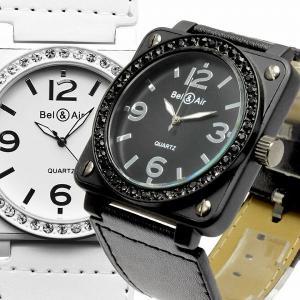腕時計 メンズ腕時計 角型ケース 1カラーコーティング ラインストーン PUレザーベルト クォーツ 男性用 JH40|springstate