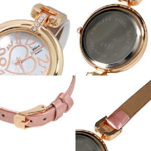 お1人様3点限りセール 腕時計 レディース腕時計 細ベルト ラインストーン PUレザーベルト クォーツ 女性用 JH8|springstate|03