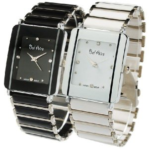 腕時計 メンズ腕時計 レクタンギュラーケース 1カラーコーティング メタルベルト クォーツ 男性用 OSD16L|springstate