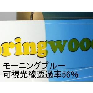 カーフィルム モーニングブルー 約25μ厚(内貼り用)可視光線透過率56%|springwood