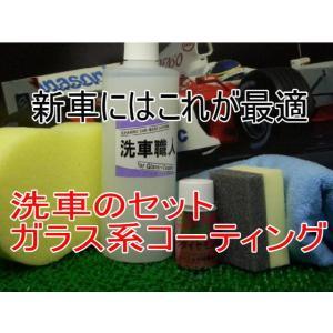 ガラスコーティング ピンクダイヤモンド30ml洗車職人のセット|springwood
