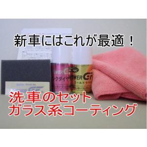 ガラスコーティング ピンクダイヤモンド&ゴールドラベル30ml入りセット 拭き取り用クロス2枚付き|springwood