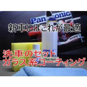 ガラスコーティング ピンクダイヤモンド100ml洗車職人のセット|springwood