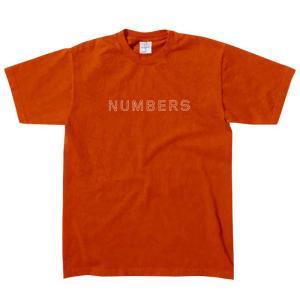 Numbers Edition(ナンバーズエディション)  Tシャツ
