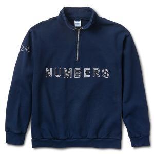 Numbers Edition(ナンバーズエディション)  クウォータージップスウェット