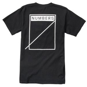 """Numbers Edition(ナンバーズエディション)  Tシャツ """"LOGOTYPE-S/S T-SHIRT"""" カラー BLACK sprout-web"""