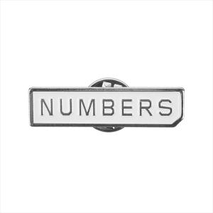 Numbers Edition(ナンバーズエディション) ピンバッジ