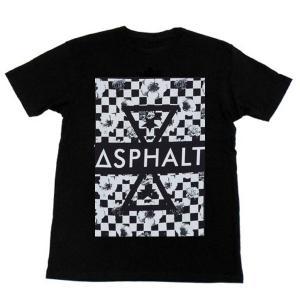 "ASPHALT YACHT CLUB(アスファルトヨットクラブ) Tシャツ ""RPM DOUBLE DELTA TEE"" カラー BLACK|sprout-web"