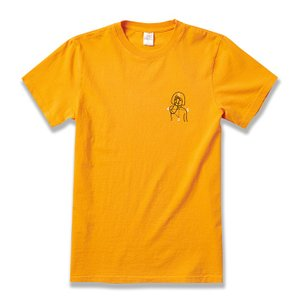 "Numbers Edition(ナンバーズエディション)  Tシャツ ""12:45 ANGEL S/S T-SHIRT"" カラー GOLD sprout-web"