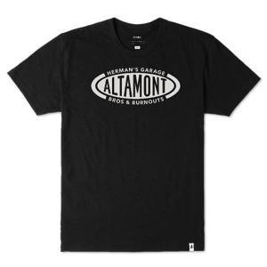 "ALTAMONT(アルタモント) Tシャツ ""BROS TEE"" カラー BLACK sprout-web"