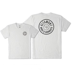 """ALTAMONT(アルタモント) Tシャツ """"BURNOUTS TEE"""" カラー WHITE sprout-web"""