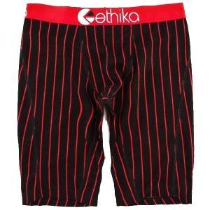 "Ethika(エシカ) アンダーウェア ""CHICAGO"" カラー BLACK/RED|sprout-web"