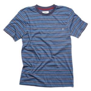"""ALTAMONT(アルタモント) Tシャツ """"FLAKEY CREW TEE"""" カラー NAVY sprout-web"""