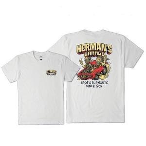 "ALTAMONT(アルタモント) Tシャツ ""HERMANS GARAGE TEE"" カラー WHITE sprout-web"