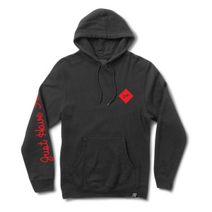 """JHF(ジェイエイチエフ) パーカー """"Legacy Pull Over Hoodie"""" カラー Black/Red