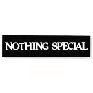 NOTHING SPECIAL(ナッシングスペシャル) ステッカー