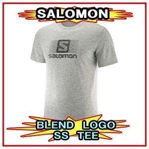 18-19モデル【SALOMON】サロモン BLEND LOGO SS TEE ブレンドロゴTシャツ 半袖|spshop-zero