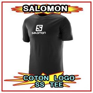 18-19モデル【SALOMON】サロモン COTTON LOGO SS TEE コットンロゴTシャツ 半袖|spshop-zero