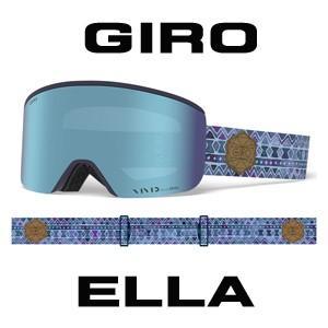 2018-2019モデル【GIRO】 ジロ スノーゴーグル ELLA エラ VIVIDレンズ使用 スペアレンズ付き 眼鏡使用可能 |spshop-zero