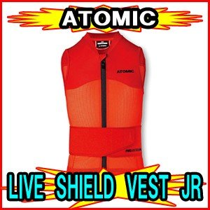 【ATOMIC】アトミック LIVE SHIELD VEST Jr 脊椎パッド バックプロテクター|spshop-zero