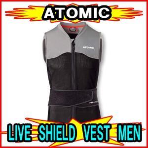 【ATOMIC】アトミック LIVE SHIELD VEST MEN 脊椎パッド バックプロテクター|spshop-zero