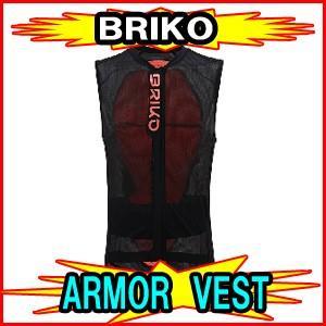 【BRIKO】ブリコ ARMOR VEST アーマーベスト 脊椎パッド バックプロテクター 2001HBO|spshop-zero