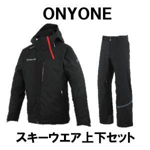 2019/2020モデル ONYONE オンヨネ スキーウエア上下セット ジャケット ONJ92041 パンツ ONP92051 Mサイズ カラー ブラック spshop-zero